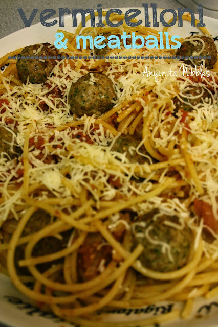 Black Dog Delicatessen's Vermicelloni & Meatballs Recipe from www.anyonita-nibbles.com