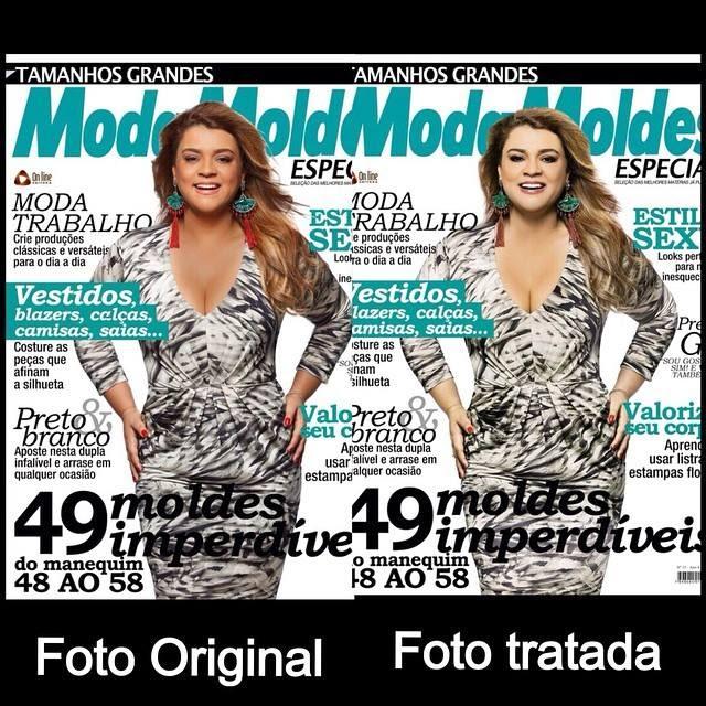 """Revista transforma Preta Gil em """"Branca Gil"""" e ela protesta"""