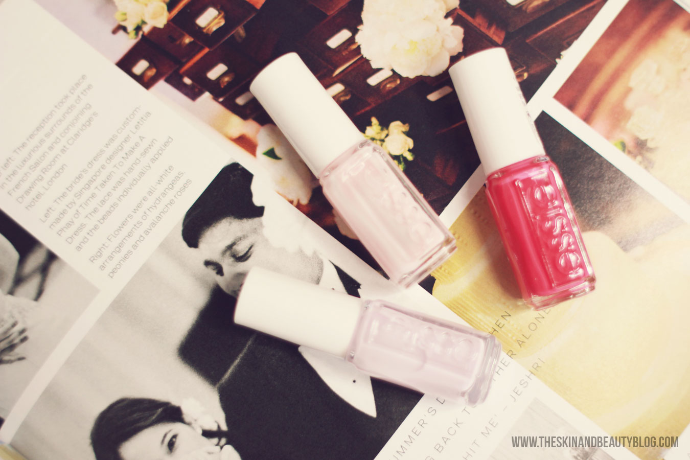 Essie Bridal Collection 2015 Review, Swatches