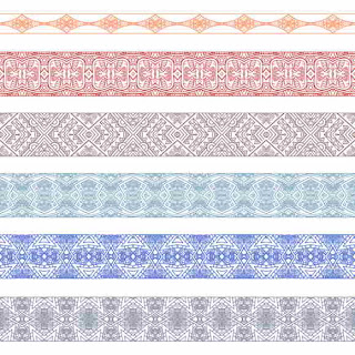 Ornamental Border Vector Graphic Design