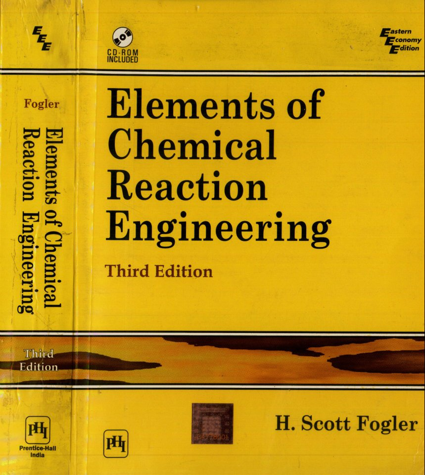 elements of chemical reaction engineering solutions