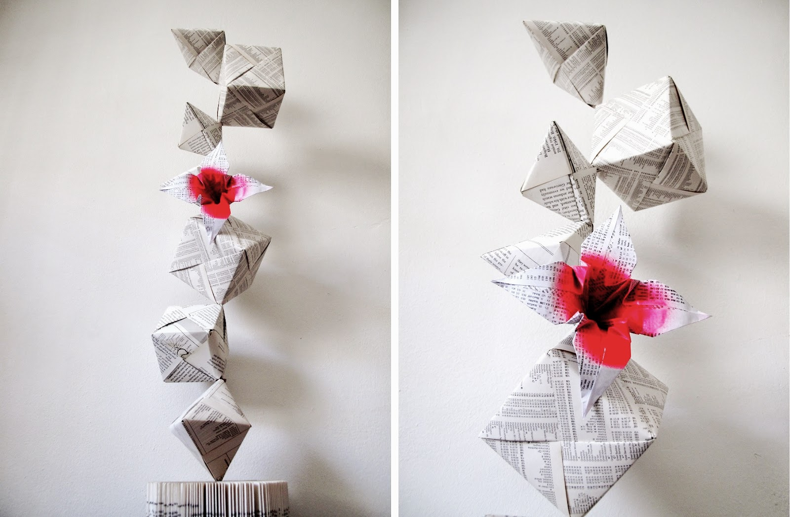 Origami totem - by Keri Muller from simpleintrigue