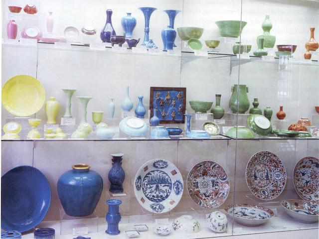 Collection de céramiques anciennes chinoises