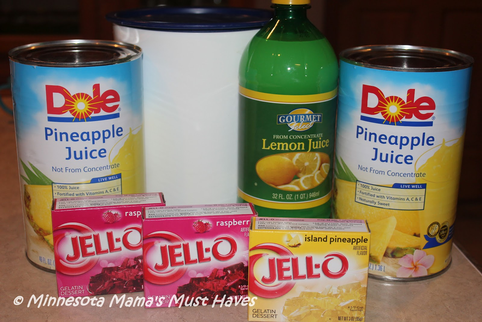 Jell-O Punch Recipe! Make ahead and freeze ~ Super Easy! - Must Have Mom