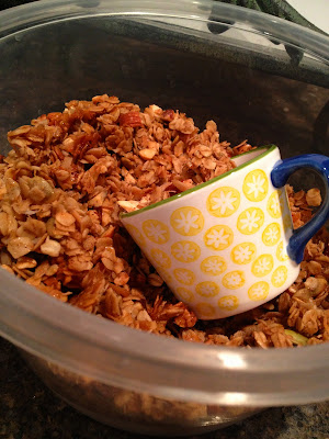 amazing coconut granola