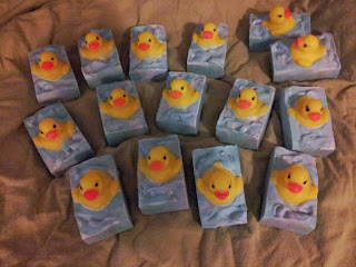 my army of rubber ducky soaps