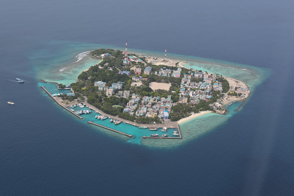 Male City and Airport Maldives Pictures