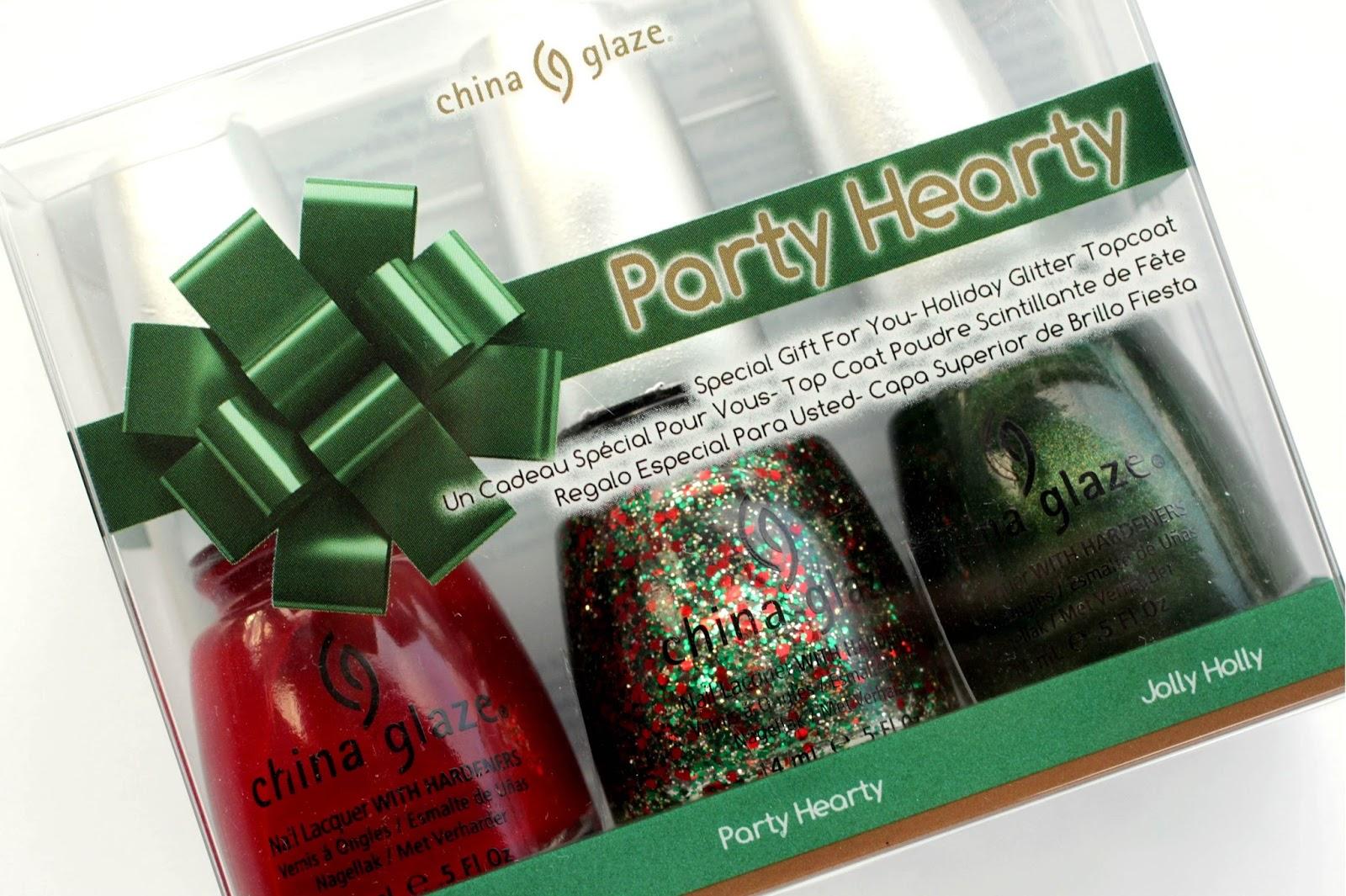 Party Hearty, Navidad en las uñas con China Glaze - DoBeauting