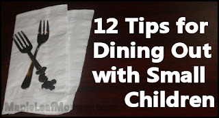 12 Tips for Eating Out with Young Kids