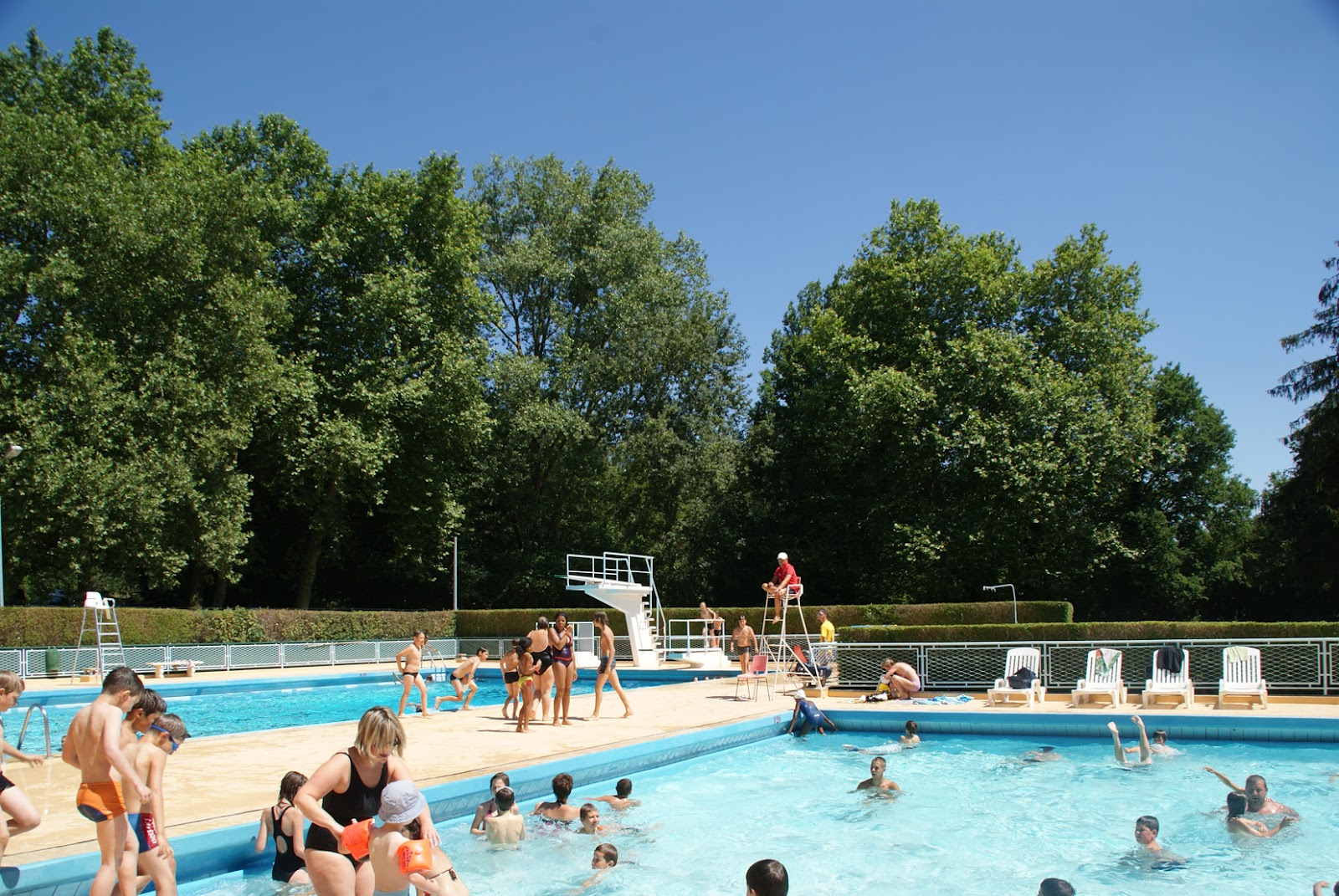 Sainte m nehould ouverture de la piscine municipale en for Ouverture piscine reims