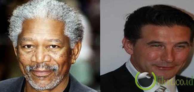 Berkencan dengan Morgan Freeman atau Billy Baldwin