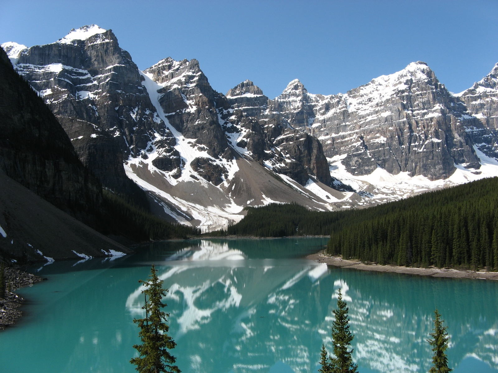 The Real Beauty Of Canadian Rockies World