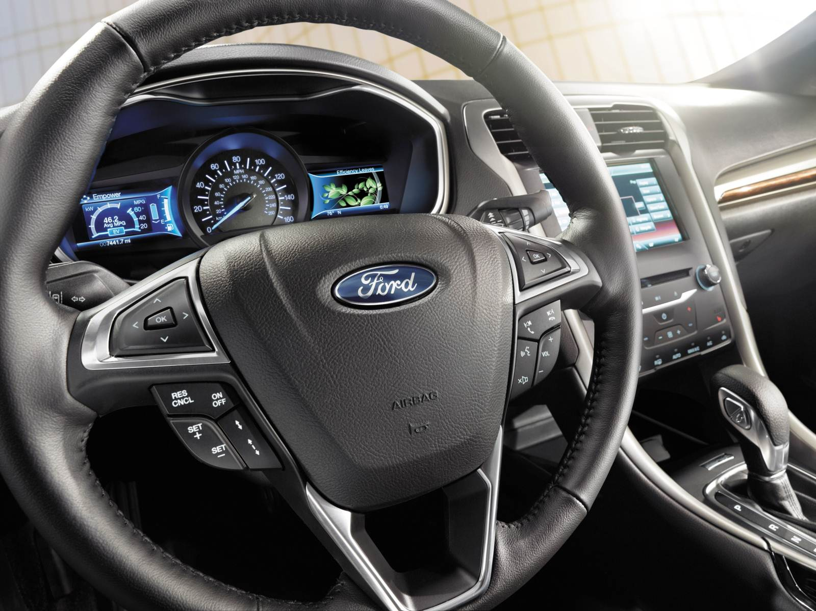 Novo ford fusion 2015 painel