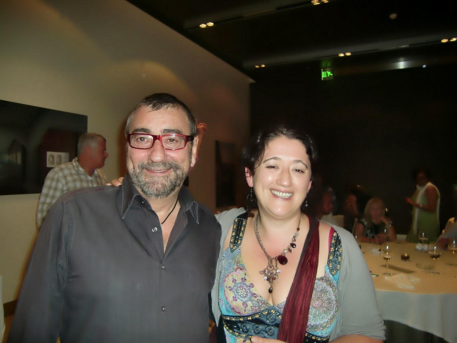Con Jose L Zúñiga en Alcalá de Henares