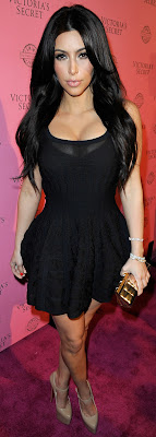 kim kardashian en el victorias secret de trajes de baño