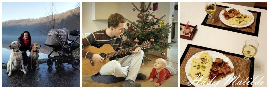 Vánoce, Štědrý večer, první Vánoce