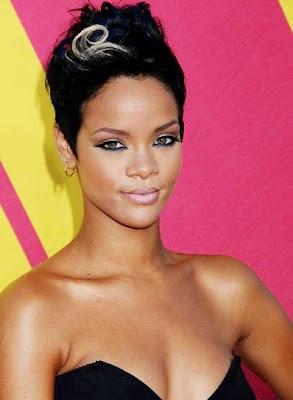 Rihanna Gold Earrings