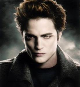 Sparkly Edward Cullen fell in love with his favorite food