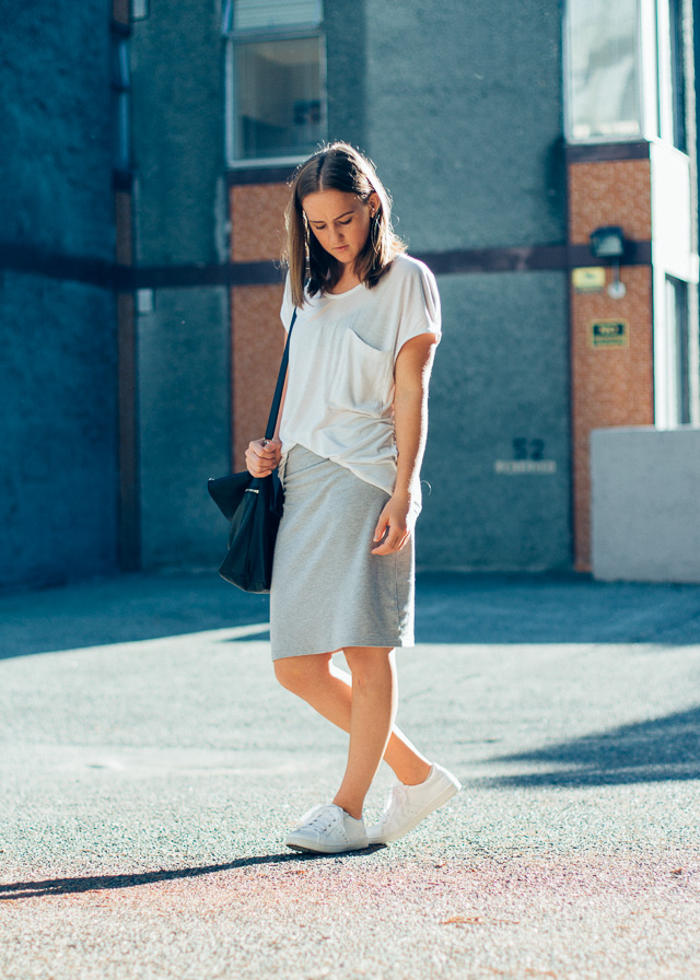 Minimal style on Vancouver fashion blogger, In My Dreams.