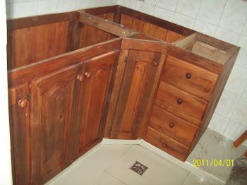 Algarrobo la deolinda algarrobo la deolinda mueble de - Mueble esquinero cocina ...