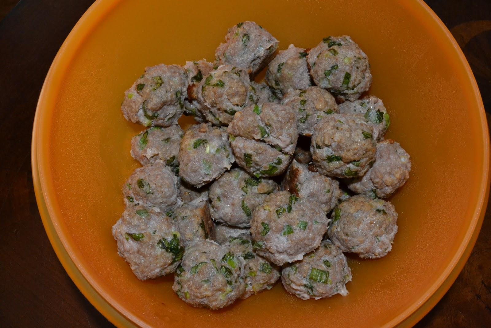 recipe: chinese turkey meatballs [34]