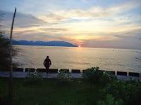 Panorama Pantai Paradiso Asik Untuk menghabiskan waktu sore