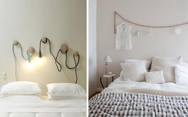 Con decoro zzzzzzzzzzzzzzzzz - Como decorar la pared del cabecero de la cama ...