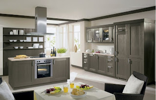 kitchen cabinets modern gray