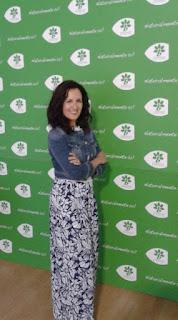 Foto de Inma Espizua en el Taller de Moda de Junio en el CC El Boulevard de Vitoria Gasteiz