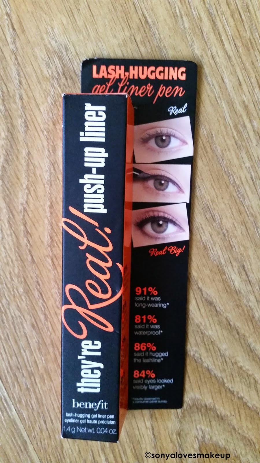 Benefit They're Real! Push Up Liner Review, Benefit They're Real! Push Up Liner