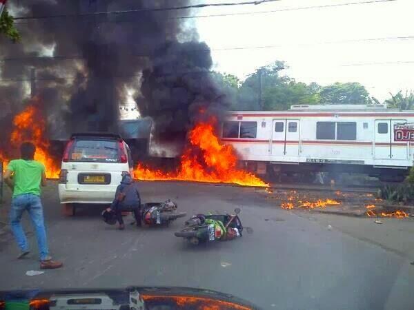 Tragedi Bintaro 2 Truk Vs KRL