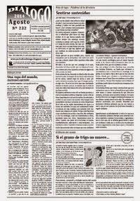 Periódico Diálogo - Agosto 2014