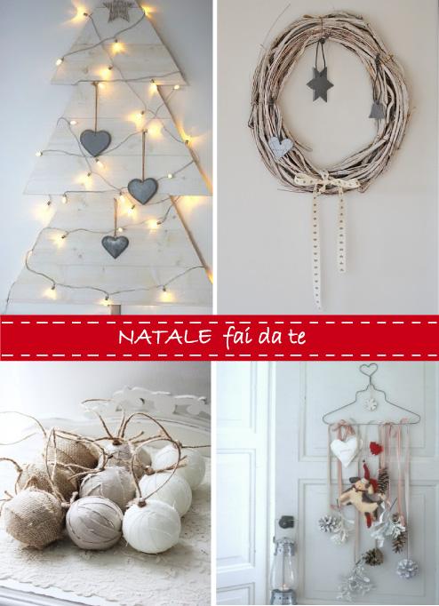abbastanza Idee per un Natale fai-da-te | Blog di arredamento e interni  OC16