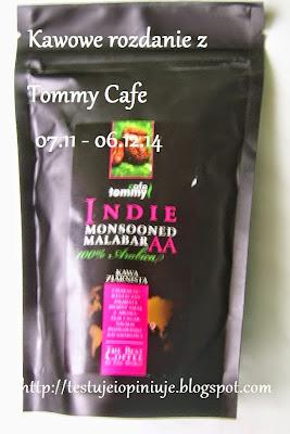Rozdanie z Tommy Cafe u mnie!