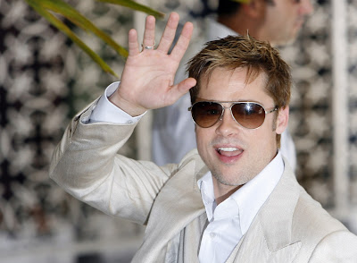 Brad Pitt- Waving Hands