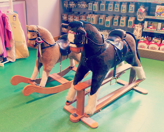 Hamleys, London, Toys, Rocking Horse