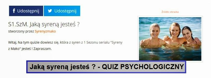 Quiz psychologiczny - Jaką syreną jesteś?
