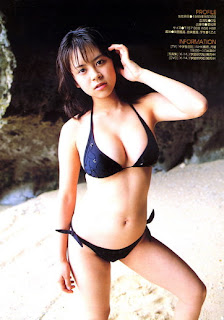 Kyoko Kamidozono Japanese Hot Idol Sexy Hot Swimsuit Photo Gallery 5