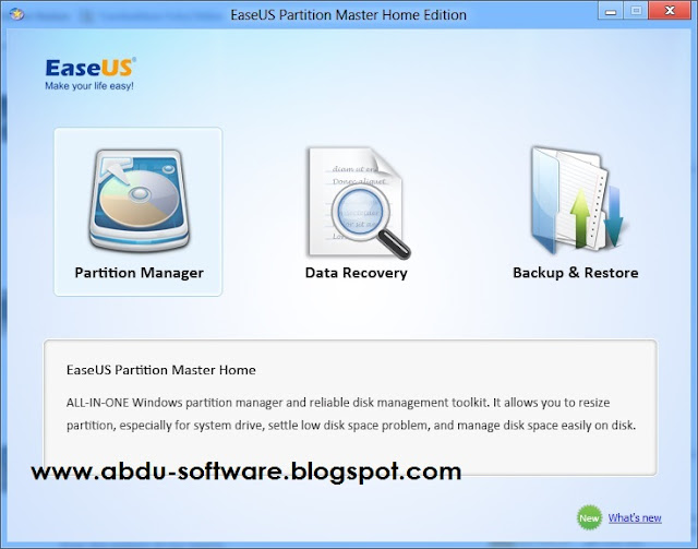 Free Download EASEUS Partition Master 9.2.1 Terbaru