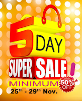 (Last Day) Homeshop18 : 5 Days Super Sale Offer at minimum 50% off : Buytoearn