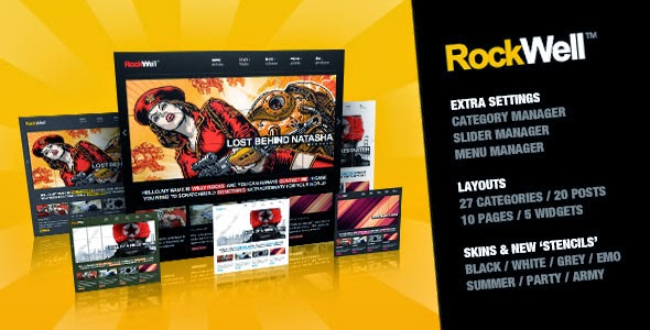 RockWell v1.7.1 Portfolio & Blog WordPress Theme