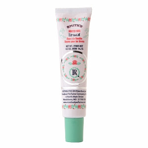 Smith's Minted Rose Lip Balm, Rosebud Perfume Co, Rosebud Perfume Co lip balm, Rosebud Perfume Co Minted Rose lip salve, lip balm, lips, lip salve
