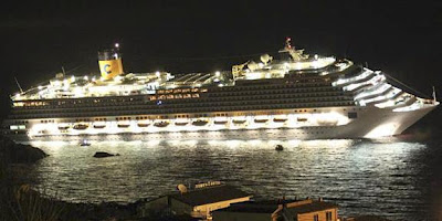 cruise ship drown in italy