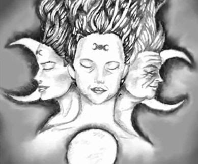Tarocchi e magia la luna nei tarocchi for T roc specchio