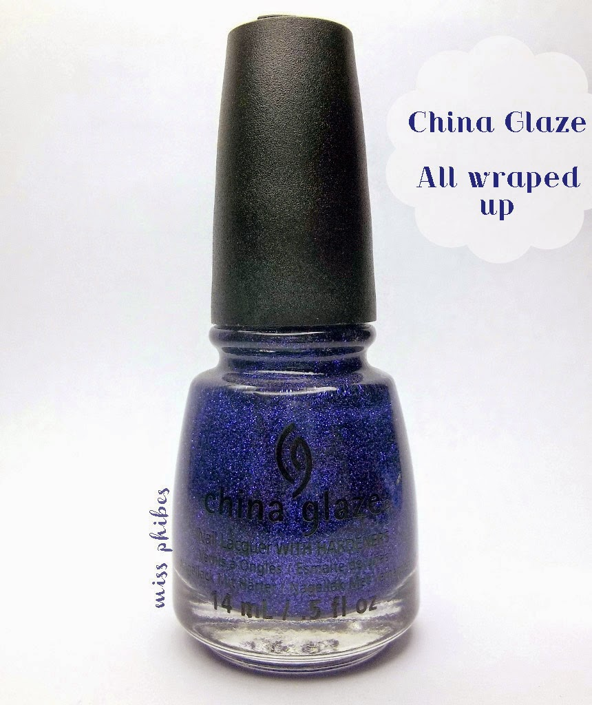 China Glaze All Wraped Up