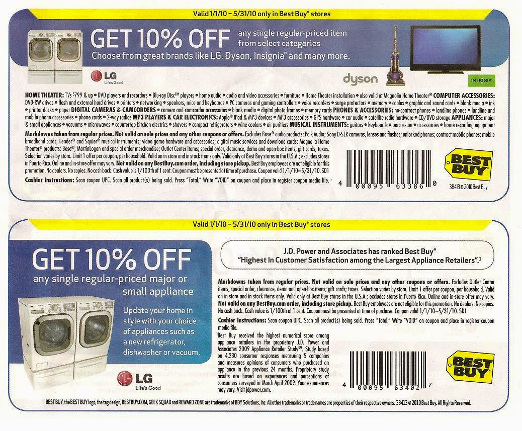 Coupon codes for best buy