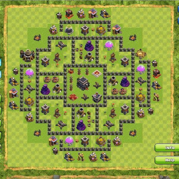 Formasi Terbaik Base Clash of Clans ~ Portal Android