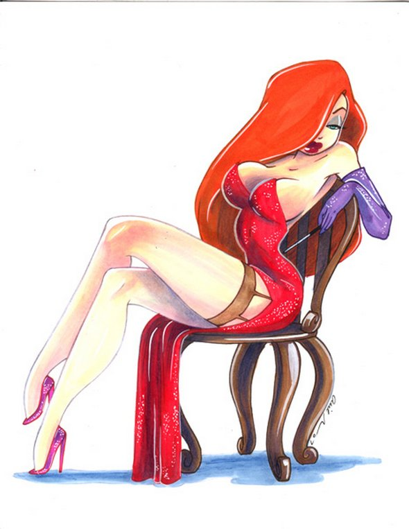 sexy female cartoon character № 76698
