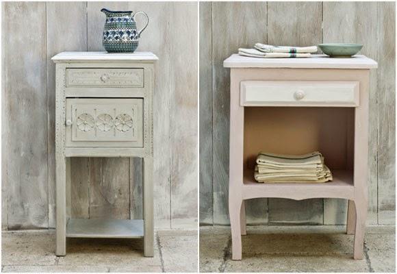 Marzua pintura de tiza muebles pintados sin lijar ni for Muebles pintados de colores