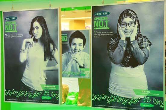 3 Blogger Terkenal Jadi Duta Spritzer Malaysia